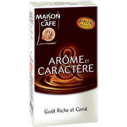 Café moulu, Arôme et caractère