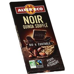 Chocolat noir quinoa soufflé BIO