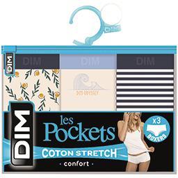 Les Pockets - Boxers X2 T 44/46 et boxers X3 T 44/46