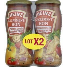 Heinz Sauce pour pâtes Sacrément Bon poivrons grillés & fr... le flacons de 490 g