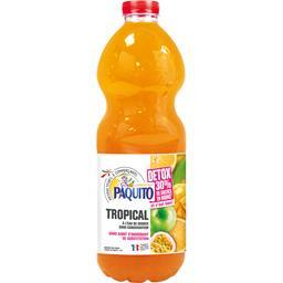 Paquito Boisson à l'eau source Détox tropical la bouteille de 2 l