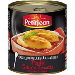 Maxi quenelles à gratiner poulet sauce tomate