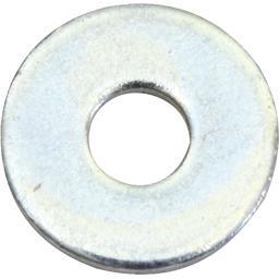 Rondelles plates larges acier zingué 6mm