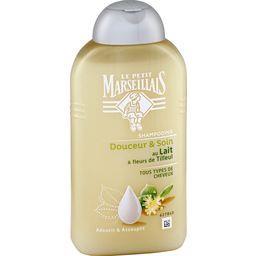 Shampooing Douceur & Soin lait & fleur de tilleul