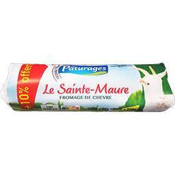 Pâturages Fromage de chèvre Le Sainte-Maure la bûche de 200 gr