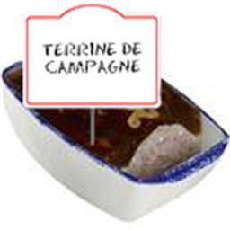 Terrine de CAMPAGNE, véritable pâté breton