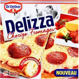 Pizza Delizza chorizo fromages