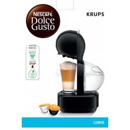 Machine à café Nescafé Dolce Gusto Lumio, noir