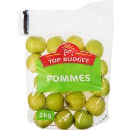 Top Budget Pommes le paquet de 2 kg
