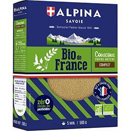 BIO de France - Couscous complet grains moyens BIO