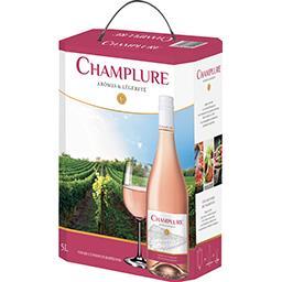 Vin de Pays Champlure, vin rosé