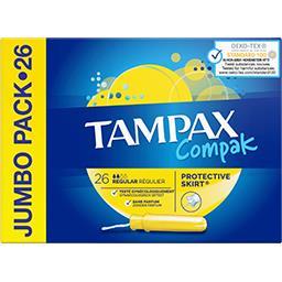 Tampax Compak régulier tampons applicateur