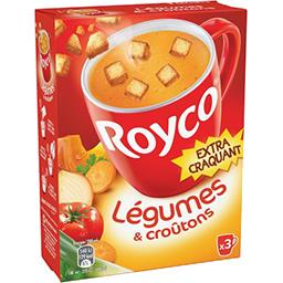 Les Minutes Soup - Délice de légumes & croûtons extr...