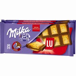 Milka Chocolat au lait & biscuit LU