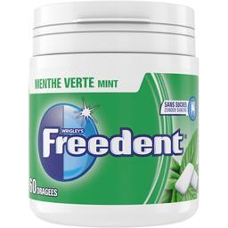 Freedent Chewing-gum menthe verte sans sucres