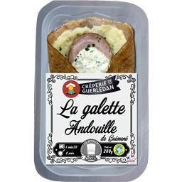 Crêperie de Guerlédan La Galette andouille la barquette de 280 g