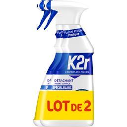K2r Détachant Spécial Blanc action complète le pistolets de 500 ml