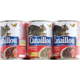 Bouchées en sauce, aliment pour chats