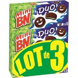 Mini biscuits Duo chocolat et vanille