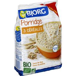 Bjorg Porridge 3 céréales BIO