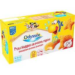 P'tits Nuggets de poisson rigolos