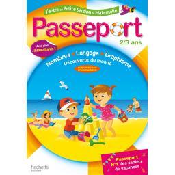 Passeport j'entre en petite section - 2/3 ans