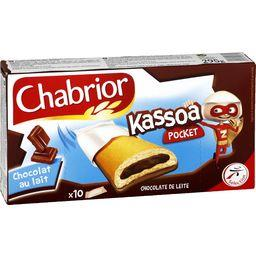Biscuits Kassoa Pocket chocolat au lait