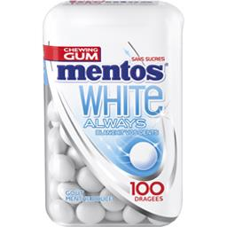 White Always - Chewing gum goût menthe douce sans su...