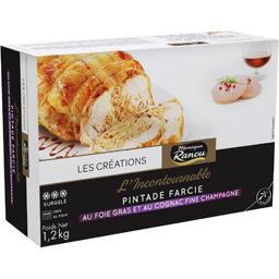 L'Incontournable Pintade farcie au foie gras et au cognac