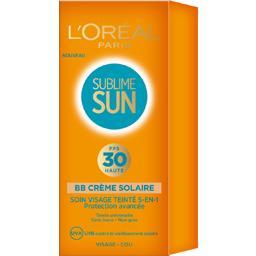 Crème visage Bronzage Idéal FPS 30