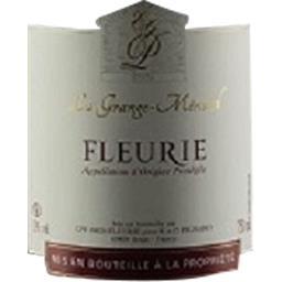 Fleurie, vin rouge