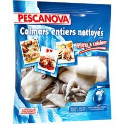 PESCANOVA Calmars Entiers Nettoyés 500 g