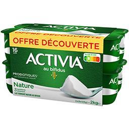 Danone Activia - Lait fermenté nature 2x(8x125g)