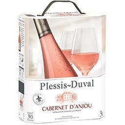 Cabernet d'anjou plessis duval, vin rosé