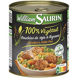 100% Végétal - Bouchées de soja & légumes