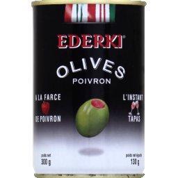 Olives à la farce de poivron