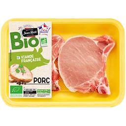 Côtes premières de porc bio