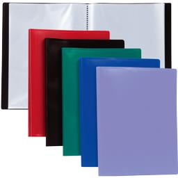 Reliure 160 vues coloris assortis