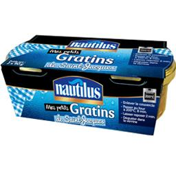 Nautilus Mes Petits Gratins de Saint-Jacques les 2 verrines de 90 g