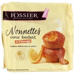 Gâteaux Nonnettes orange Fossier