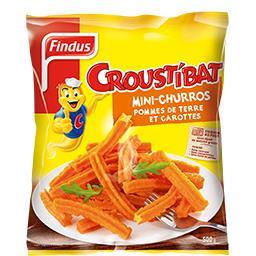 Findus Findus Croustibat - Mini-churros pommes de terre et carotte...