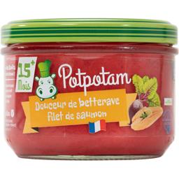 Potpotam Douceur de betterave filet de merlan Pot de 200g
