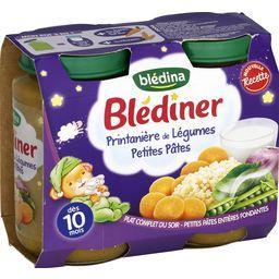 Blédina Blédîner - Printanière de légumes petites pâtes, dès... les 2 pots de 200 g
