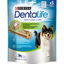 Purina One Dentalife Sticks Medium 12-25 kg pour chiens