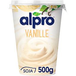 Dessert végétal soja vanille