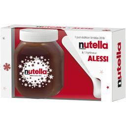 Nutella Pâte à tartiner aux noisettes et au cacao le coffret de 825g
