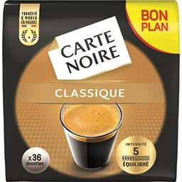 Carte Noire Dosettes de café classique n°5