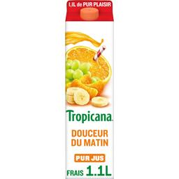 Pure Premium - Jus de 4 fruits Douceur du Matin 100%...