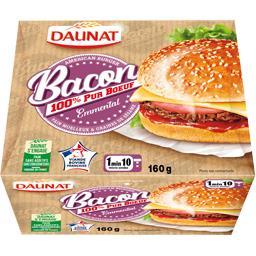 Bacon Burger bœuf emmental