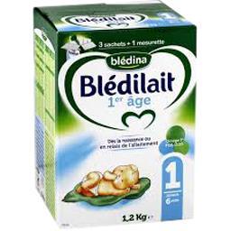 Blédilait - Lait en poudre 1, jusqu'à 6 mois